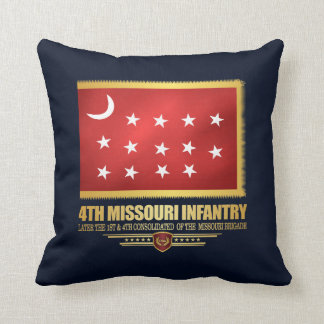 4th Missouri Infantry Cushion