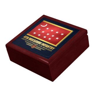 4th Missouri Infantry Large Square Gift Box
