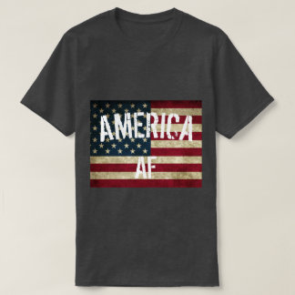 4th of July- America AF Funny Tee