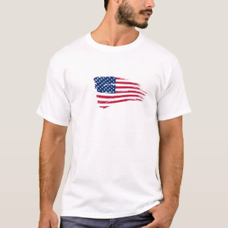 4th of july american flag. T-Shirt