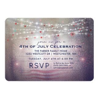 4th of July Celebration Lights & Sparkles Invite