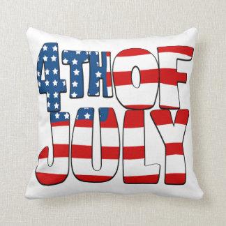 4th of July Cushion