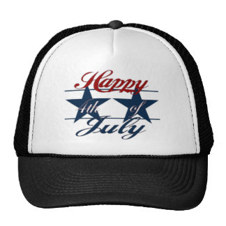4th of july decorations mesh hat