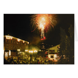 4th of July Fireworks Aspen CO Card