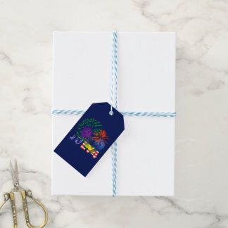4th of July Fireworks Gift Tags