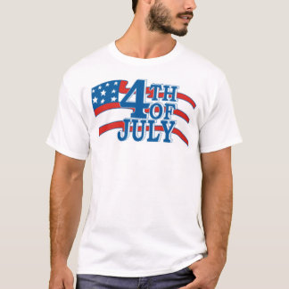 4TH OF July flag T-Shirt