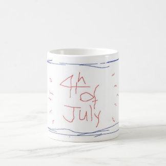 4th of July Funky Fun Coffee Mug Fourth of July