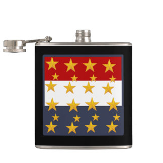 4TH OF JULY HIP FLASK