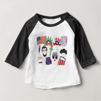 4th of July holiday - Independence Day Baby T-Shirt