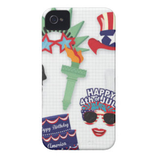 4th of July holiday - Independence Day Case-Mate iPhone 4 Case
