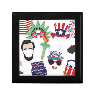 4th of July holiday - Independence Day Gift Box