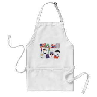4th of July holiday - Independence Day Standard Apron