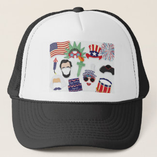 4th of July holiday - Independence Day Trucker Hat