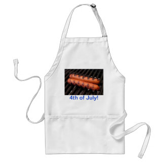4th of July Hot Dogs Apron