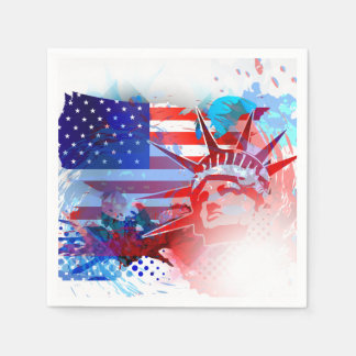 4th Of July Independence Day Paper Napkins