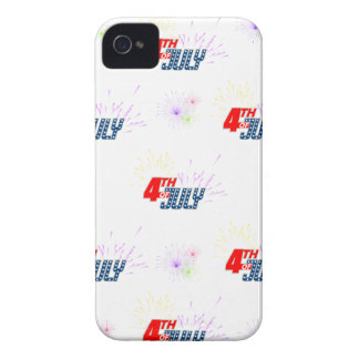 4TH-OF-JULY iPhone 4 Case-Mate CASES