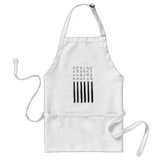 4th of July LGBTQ Friendly American Flag T- shirt Standard Apron