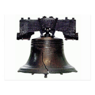 4th of July Liberty Bell Postcard