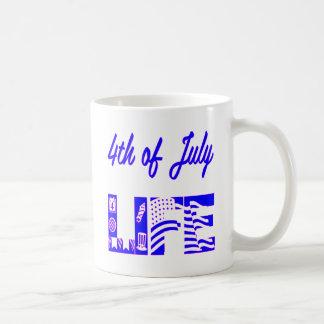 4th Of July Life FB.com/USAPatriotGraphics © Coffee Mug