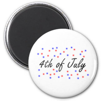 4th of July Magnet