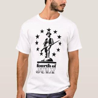 4th of July Minuteman T-Shirt