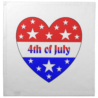4th of July Napkin