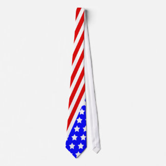 4th of July Necktie, American Flag Tie