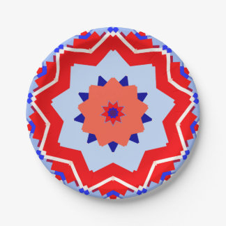 4th Of July Paper Plate