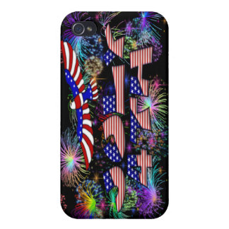 4th of July Party iPhone 4/4S Cases