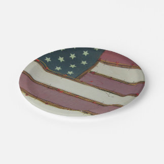 4th of July plates 7 Inch Paper Plate