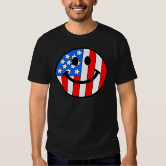 4th of July Smiley Shirts