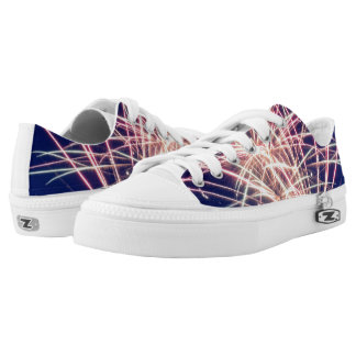 4th Of July Sparkles Low Tops