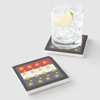 4TH OF JULY STONE COASTER
