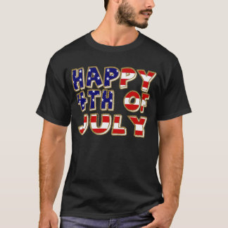4th of July. T-Shirt