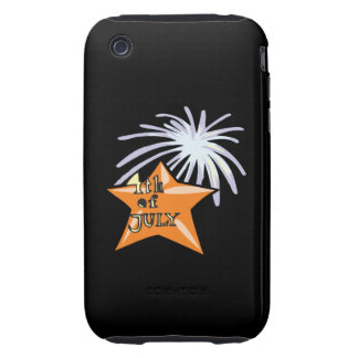 4th Of July Tough iPhone 3 Covers