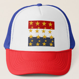 4TH OF JULY TRUCKER HAT