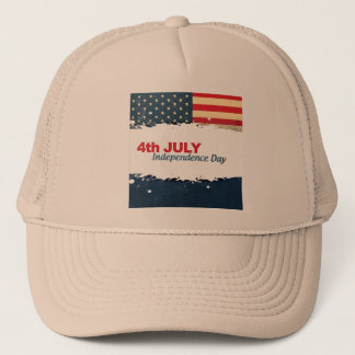 4th Of July Trucker Hat Men Cap