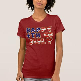 4th of July. Tee Shirt