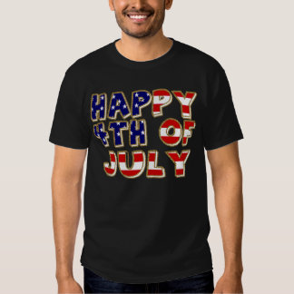 4th of July. Tshirt