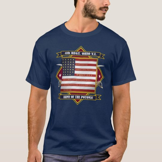 4th Ohio Volunteer Infantry T-Shirt