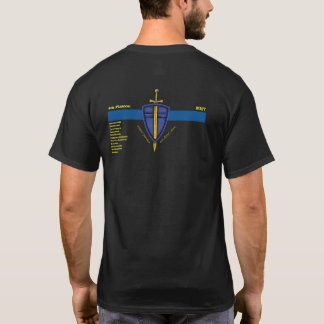 4th Platoon With Department Names T-Shirt