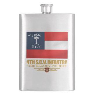 4th South Carolina Infantry Hip Flask