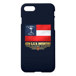 4th South Carolina Infantry iPhone 7 Case