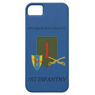 4TH SQUADRON 4TH CAVALRY 1ST INFANTRY iPHONE CASE iPhone 5 Covers
