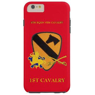 4TH SQUADRON 9TH CAVALRY 1ST CAVALRY CASE TOUGH iPhone 6 PLUS CASE