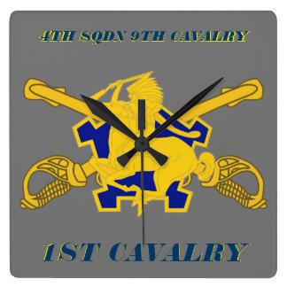 4TH SQUADRON 9TH CAVALRY 1ST CAVALRY CLOCK