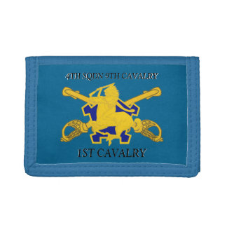 4TH SQUADRON 9TH CAVALRY 1ST CAVALRY WALLET