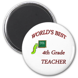 4th Teacher Magnet
