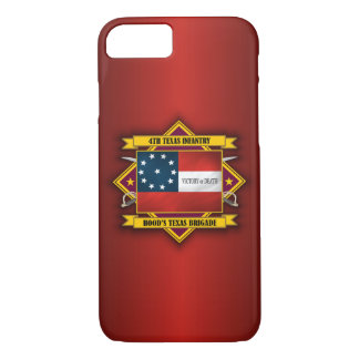 4th Texas Infantry (v5) iPhone 7 Case