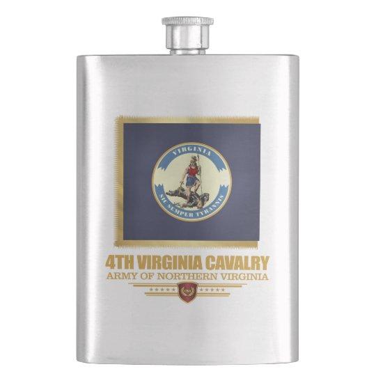 4th Virginia Cavalry Hip Flask